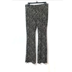 Abound Leopard Print Stretchy Flare Pull On Pants